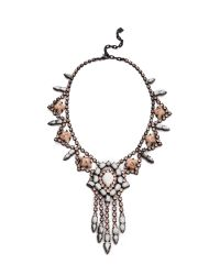 DANNIJO | Metallic Marie Necklace | Lyst