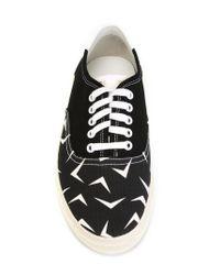 Saint Laurent - Black Skate Low-Top Sneakers for Men - Lyst