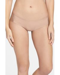 Halogen | Natural 'no Show' Cheeky Hipster Briefs | Lyst