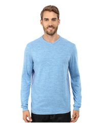Tommy Bahama | Blue Sundays Best V-neck Long Sleeve for Men | Lyst