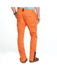 RLX Ralph Lauren | Orange Cotton Explorer Pants for Men | Lyst