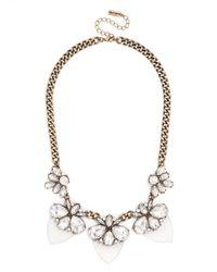 BaubleBar - Metallic Paradise Persimmon Collar - Lyst