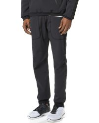 Steven Alan - Black Stretch Nylon And Powerdry Pants for Men - Lyst