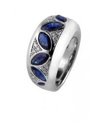 De Grace | Metallic Multi Color Cléopâtre Ring | Lyst