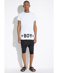 Forever 21 - White Boy London Vented Tee for Men - Lyst