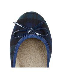 Butterfly Twists | Blue Ballerina Shoe | Lyst