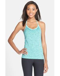 Nike | Blue 'indy' Dri-fit Space Dye Tank | Lyst