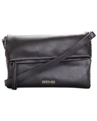 Kenneth Cole Reaction | Black Right Angles Mini Crossbody | Lyst