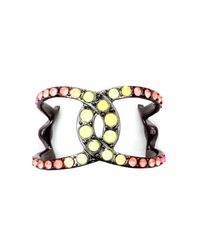 Lulu Frost | Multicolor Handpainted Equine Cuff | Lyst