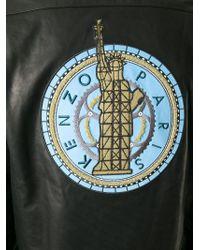 KENZO | Black 'statue Of Liberty' Bomber Jacket for Men | Lyst