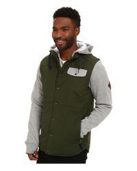 686 - Green Parklan Bedwin Insulated Jacket for Men - Lyst