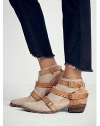 Free People | Brown Jade Ankle Boot | Lyst
