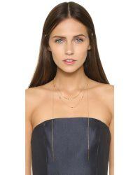 Gorjana - Metallic Cayne Pendant Necklace - Lyst