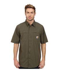 Carhartt | Green Force Mandan Solid S/s Woven for Men | Lyst