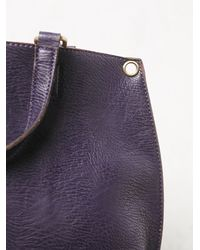 Free People | Purple Reversible Vegan Crossbody | Lyst