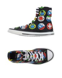 Moschino | Black High-tops & Trainers for Men | Lyst