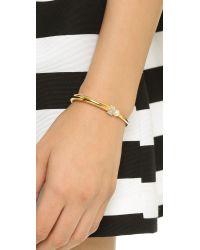 Vita Fede - Metallic Eclipse Cubo Bracelet - Gold/pearl/clear - Lyst