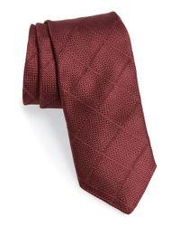 Todd Snyder - Purple Windowpane Silk Tie for Men - Lyst