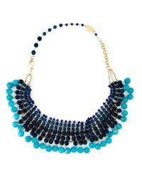 Rosantica | Blue Beaded Necklace | Lyst