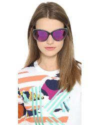 Markus Lupfer - Cat Eye Revo Sunglasses - Black/pink - Lyst