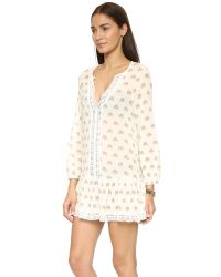 Eberjey | Natural Lotus Bloom Tessa Tunic | Lyst