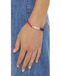 Venessa Arizaga - Red Meow Bracelet - Lyst