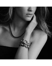 David Yurman - Metallic Three-row Chain Necklace - Lyst