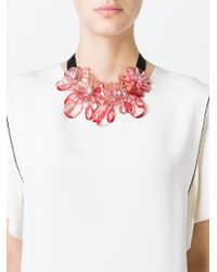 P.A.R.O.S.H. - Pink 'pinnek' Necklace - Lyst
