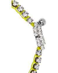 Shourouk Metallic Cora Bamako Silver-plated Swarovski Crystal Necklace