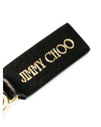 Jimmy Choo - Black Fringed Charm - Lyst