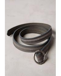 Anthropologie - Gray Cadre Noir Belt - Lyst
