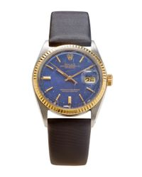 CMT Fine Watch And Jewelry Advisors | Blue 1969 Rolex Datejust 1601 | Lyst