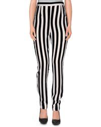 Dolce & Gabbana | Black Casual Trouser | Lyst
