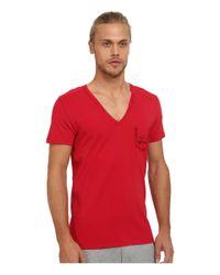 DIESEL - Red Umtee-jesse T-shirt Jahh for Men - Lyst