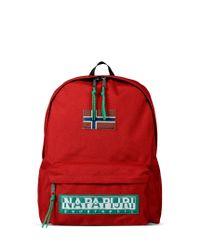 Napapijri | Red Rucksack for Men | Lyst