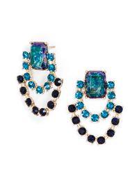 BaubleBar | Black Opal Azure Swag Drops | Lyst