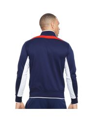 Ralph Lauren | Blue Color-blocked Track Jacket for Men | Lyst