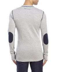 Moods Of Norway - White Ulv Jacquard Sweater for Men - Lyst