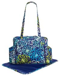 Vera Bradley | Blue Stroll Around Baby Bag | Lyst