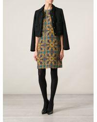 M Missoni - Multicolor Printed Shift Dress - Lyst
