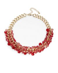 Catherine Stein | Metallic Cluster Beaded Necklace | Lyst