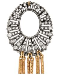 Lulu Frost - Metallic Bronzetone Crystal Necklace - Lyst