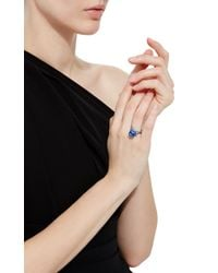 Lauren X Khoo - Blue Chinese Zodiac Ring - Goat - Lyst