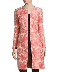 Lafayette 148 New York | Multicolor Roland Embroidered Floral Jacket | Lyst