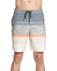 Billabong | Gray 'spinner - Lo Tides' Board Shorts for Men | Lyst