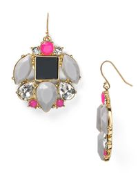 kate spade new york | Multicolor Metropolis Mosaic Drop Earrings - Bloomingdale's Exclusive | Lyst