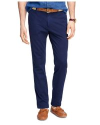 Brooks Brothers | Blue Slim Fit Chinos for Men | Lyst