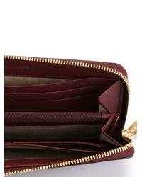 MICHAEL Michael Kors - Purple Jet Set Travel Wallet - Lyst