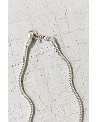 Urban Outfitters | Metallic Snake Chain Choker Necklace | Lyst