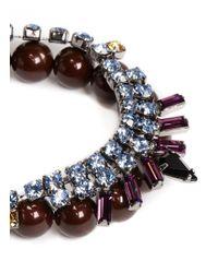 Joomi Lim | Multicolor 'rebel Romance' Crystal Bead Bracelet | Lyst